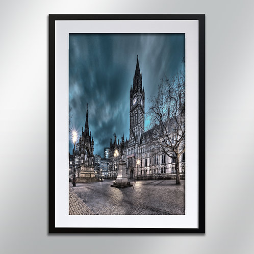 Manchester Albert Square, Wall Art, Cityscape, Fine Art Photography