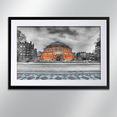 London Albert Hall, Wall Art, Cityscape, Fine Art Photography