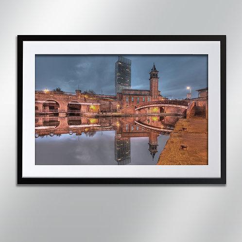 Manchester Castlefield, Wall Art, Cityscape, Fine Art Photography