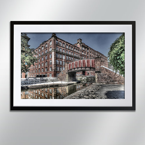 Manchester M161 Royal Mill Ancoats, Wall Art, Cityscape, Fine Art Photography
