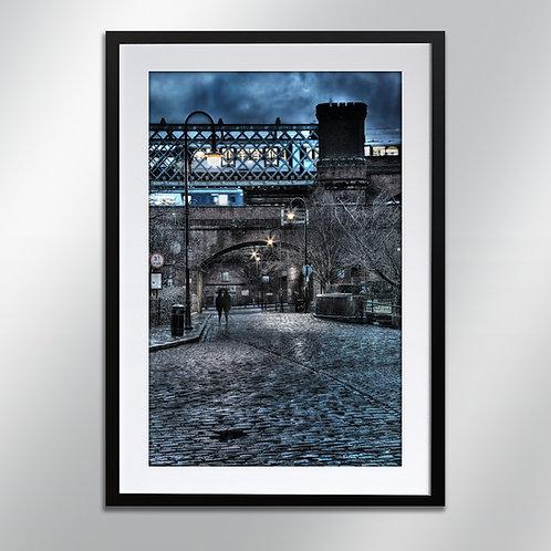 Castlefield at night, Wall Art, Cityscape, Fine Art Photo