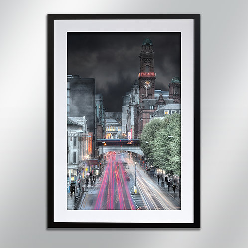 Manchester Oxford Road, Wall Art, Cityscape, Fine Art Photography