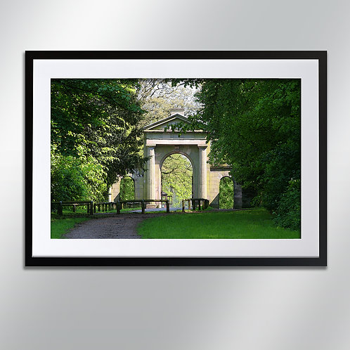 Tatton park gates, Wall Art, Cityscape, Fine Art Photography