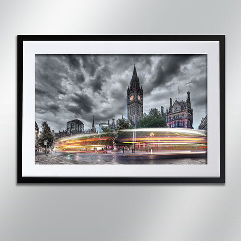 Manchester Town Hall, Wall Art, Cityscape, Fine Art Photography