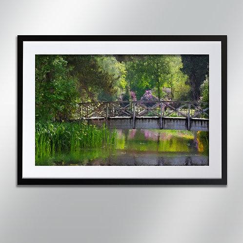 Tatton park bridge, Wall Art, Cityscape, Fine Art Photography