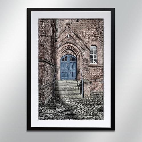 Knutsford Egerton Girls Entrance, Wall Art, Cityscape, Fine Art Photograp