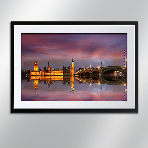 London Westminster, Wall Art, Cityscape, Fine Art Photography