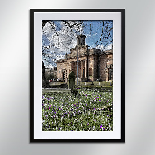Knutsford Sessions House, Wall Art, Cityscape, Fine Art Photography