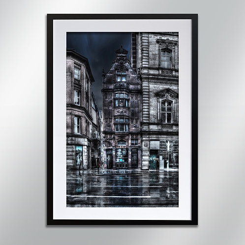 Manchester MR Thomas Chop House, Wall Art, Cityscape, Fine Art Photography
