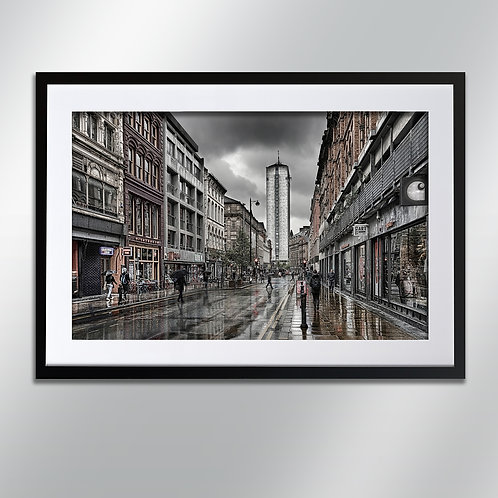 Manchester Oldham Street, Wall Art, Cityscape, Fine Art Photography