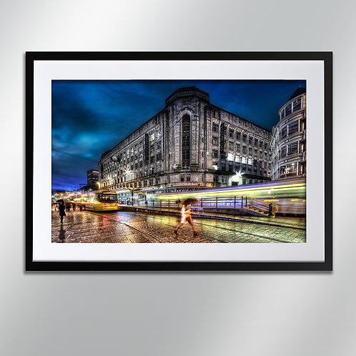 Manchester Market Street 2, Wall Art, Cityscape, Fine Art Photography