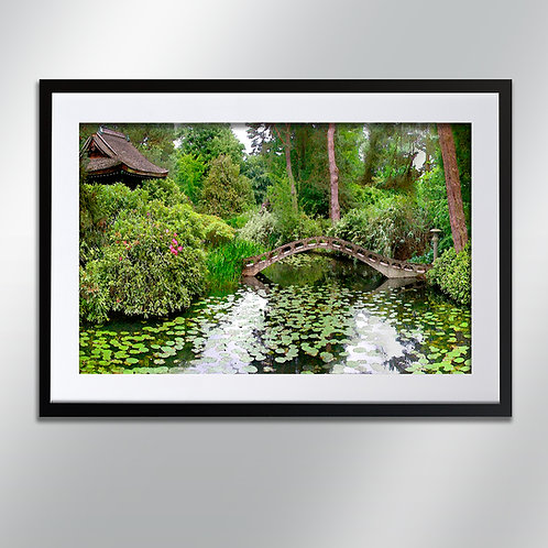 Tatton park Japanese garden, Wall Art, Cityscape, Fine Art Photograp