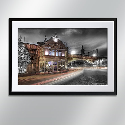 Manchester Atlas Bar, Wall Art, Cityscape, Fine Art Photography