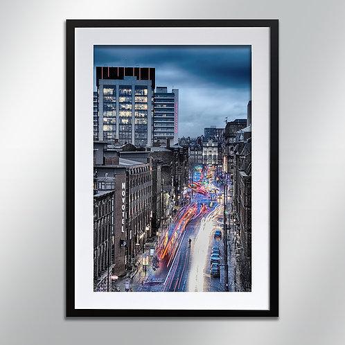 Manchester Portland Street, Wall Art, Cityscape, Fine Art Photography