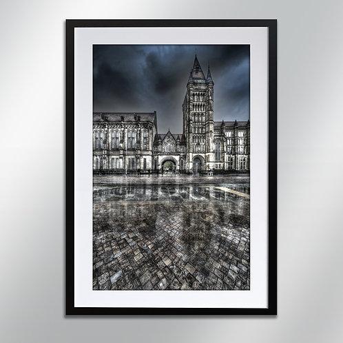 M207 - Manchester university, Wall Art, Cityscape, Fine Art Photo