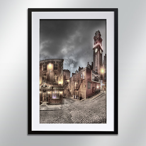 Manchester Salisbury And Palace, Wall Art, Cityscape, Fine Art Photography