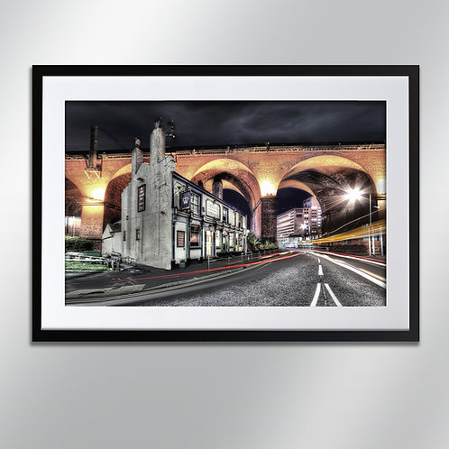 Stockport The Crown Inn, Wall Art, Cityscape, Fine Art Photo