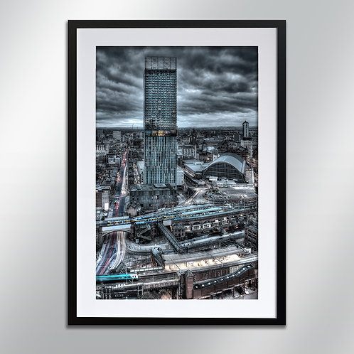 Manchester Early Morning, Wall Art, Cityscape, Fine Art Photography