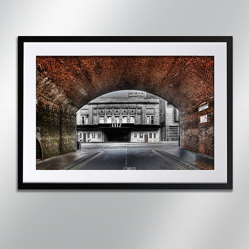 Manchester The Ritz, Wall Art, Cityscape, Fine Art Photography