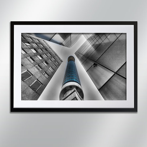 London The Post Office Tower, Wall Art, Cityscape, Fine Art Photography