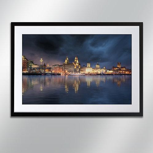 Liverpool Skyline, Wall Art, Cityscape, Fine Art Ph
