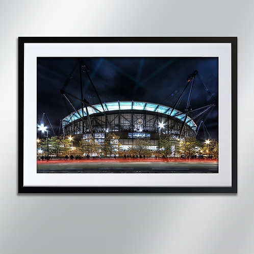 Manchester Etihad, Wall Art, Cityscape, Fine Art Photography