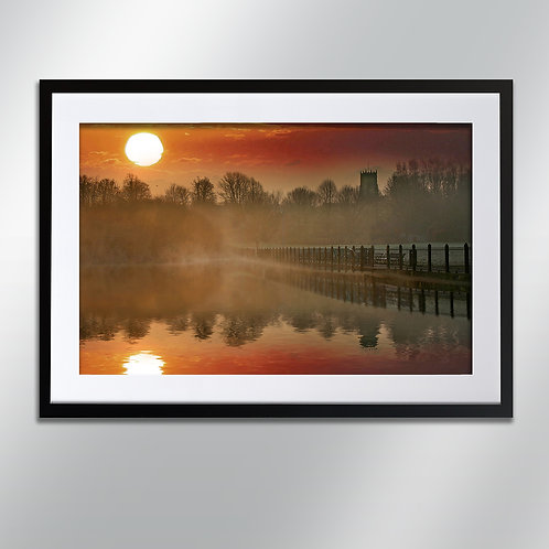 Knutsford Sunrise, Wall Art, Cityscape, Fine Art Photography