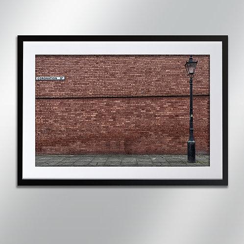 Manchester Salford Coronation St , Wall Art, Cityscape, Fine Art Photography