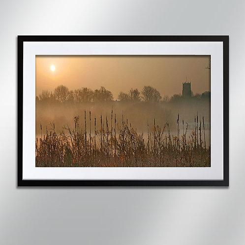 Knutsford Mist, Wall Art, Cityscape, Fine Art Photography