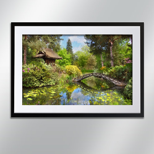 Tatton park Japanese garden, Wall Art, Cityscape, Fine Art Photography