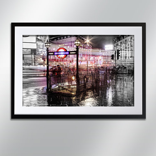 London Underground, Wall Art, Cityscape, Fine Art Photograph