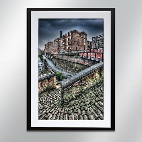 Manchester Ancoats Murry Mill, Wall Art, Cityscape, Fine Art Photography