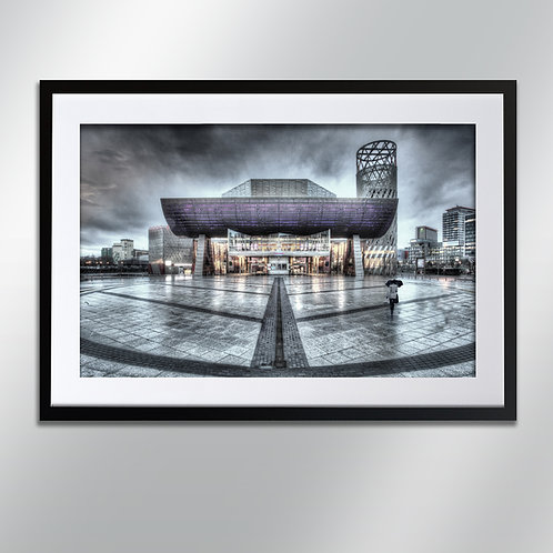 Manchester Salford Lowry, Wall Art, Cityscape, Fine Art Photography
