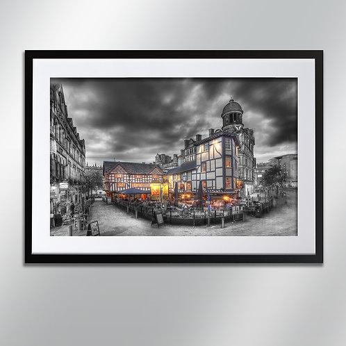 Manchester Old Wellington, Wall Art, Cityscape, Fine Art Photography