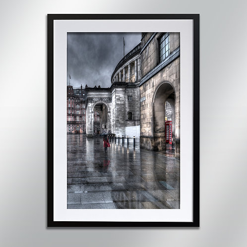 Manchester West Mosley Street, Wall Art, Cityscape, Fine Art Photography
