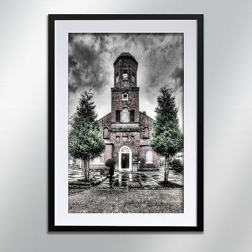 Stockport St Peters Church, Wall Art, Cityscape, Fine Art Photo
