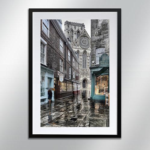 Minster Gates York, Wall Art, Cityscape, Fine Art Photograp