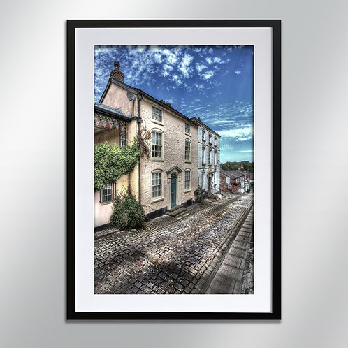 Knutsford Church Hill, Wall Art, Cityscape, Fine Art Photography