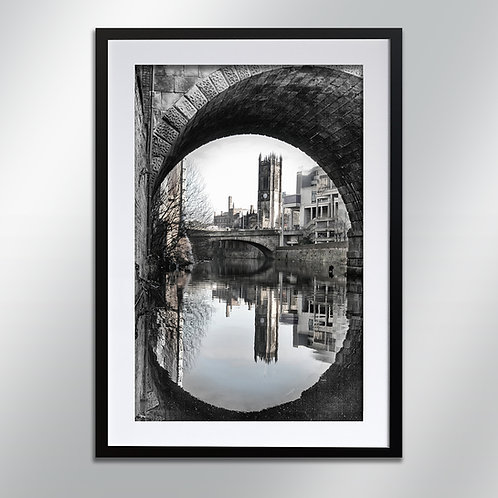 Manchester Cathedral, Wall Art, Cityscape, Fine Art Photography