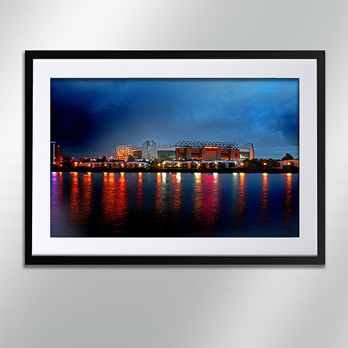 Manchester Old Trafford, Wall Art, Cityscape, Fine Art Photography