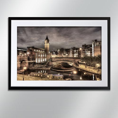 Manchester Castlefield , Wall Art, Cityscape, Fine Art Photography