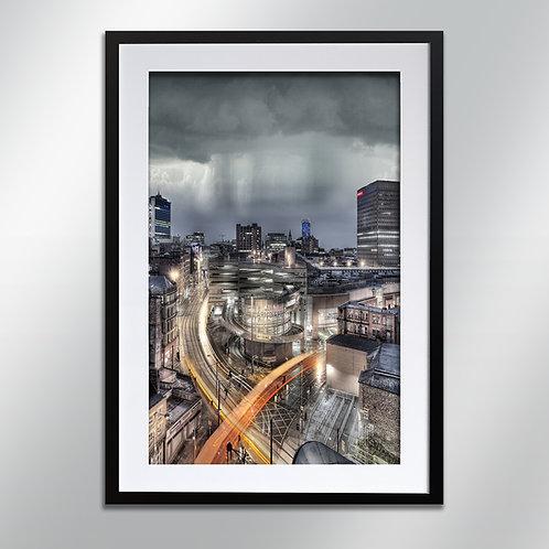 Manchester Shudehill , Wall Art, Cityscape, Fine Art Photography