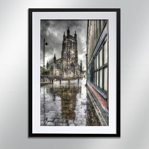 Stockport St Mary's Church, Wall Art, Cityscape, Fine Art Photo