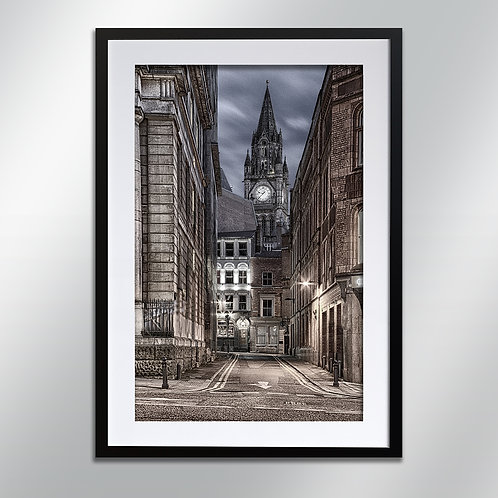Manchester Town Hall And Tavern, Wall Art, Cityscape, Fine Art Photography