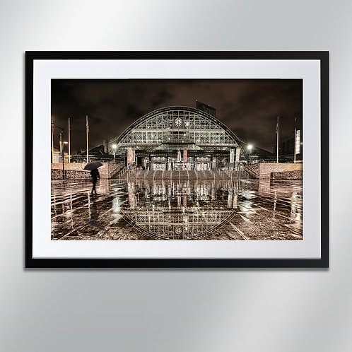 Manchester Central, Wall Art, Cityscape, Fine Art Photography