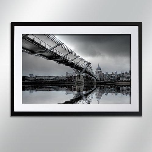 London Millennium Bridge, Wall Art, Cityscape, Fine Art Photography