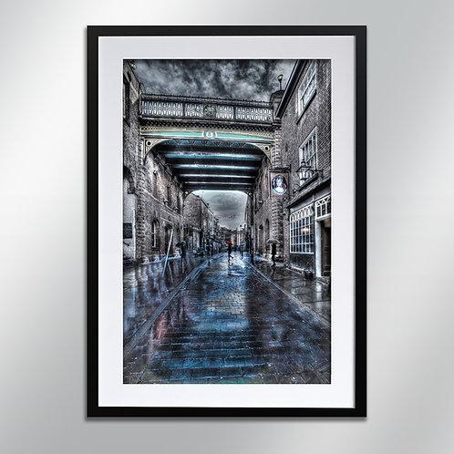 Stockport Little Under bank, Wall Art, Cityscape, Fine Art Photo