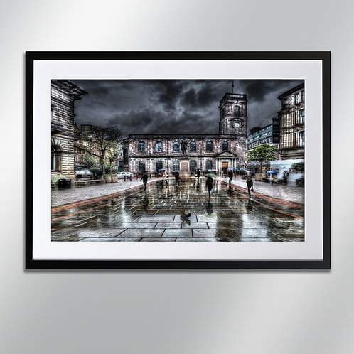 Manchester St Annes Square, Wall Art, Cityscape, Fine Art Photography