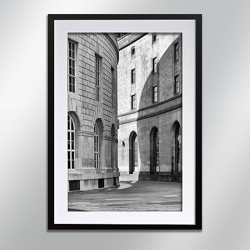 Manchester Central Library, Wall Art, Cityscape, Fine Art Photography
