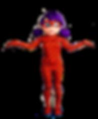 Mascotte Ladybug